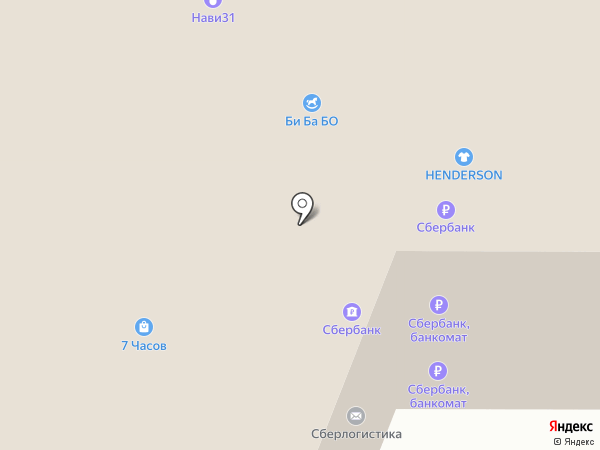 585 GOLD на карте Белгорода
