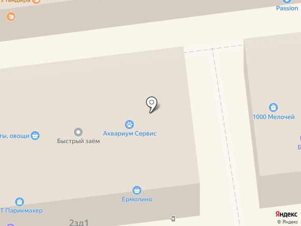 ВТ Парикмахер на карте Белгорода