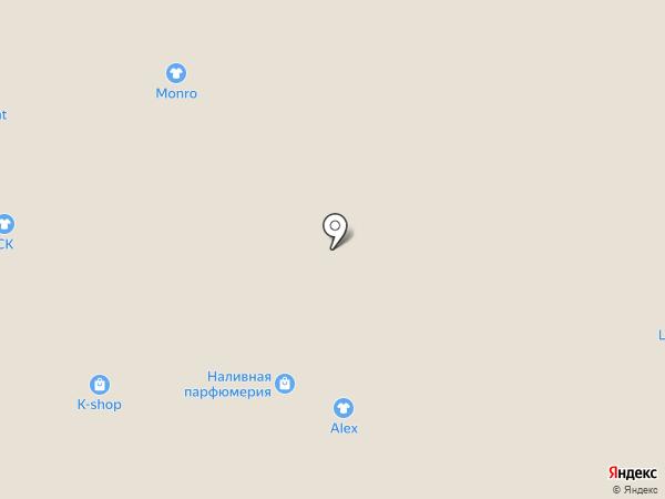 Ангел на карте Белгорода