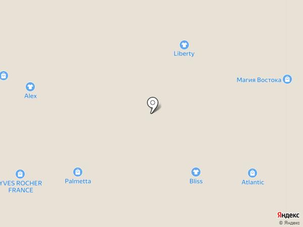 RENE на карте Белгорода
