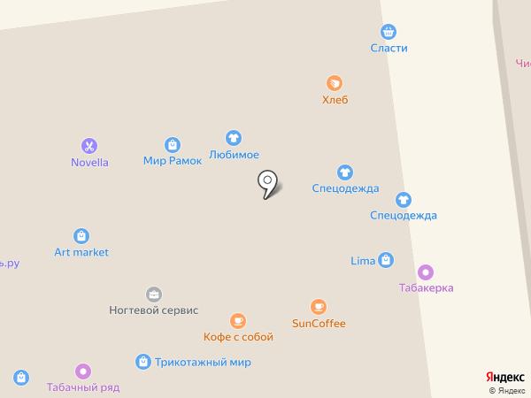 Ермолино на карте Белгорода