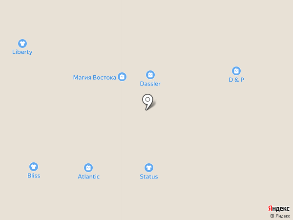 Argentum на карте Белгорода