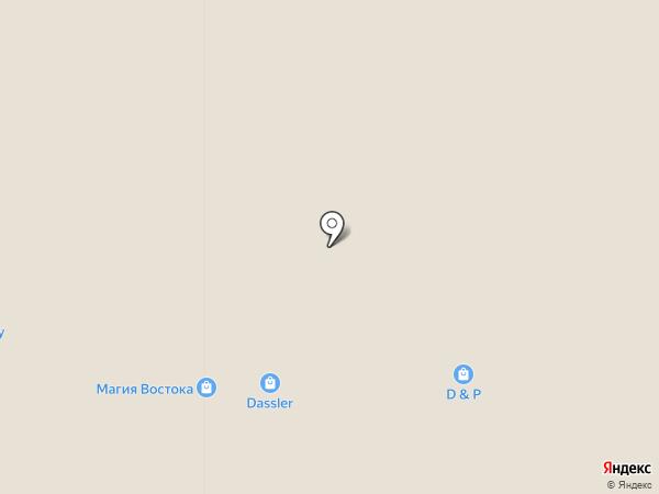 Магазин бижутерии на карте Белгорода