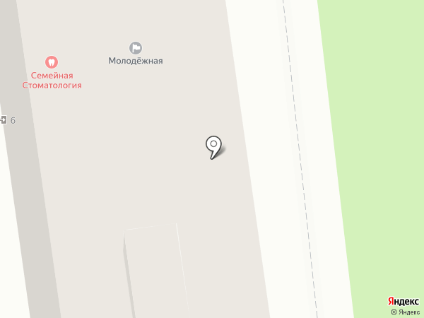Стоматологическая поликлиника №2 на карте Белгорода