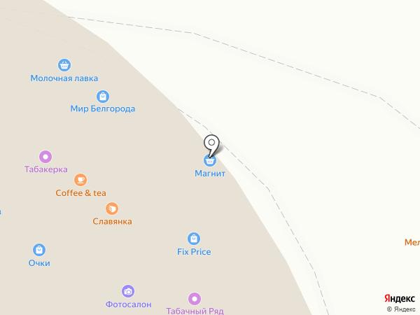 Планета знаний на карте Белгорода