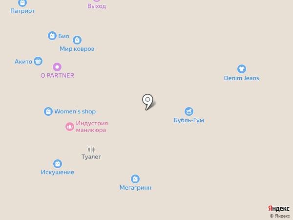 Искушение на карте Белгорода