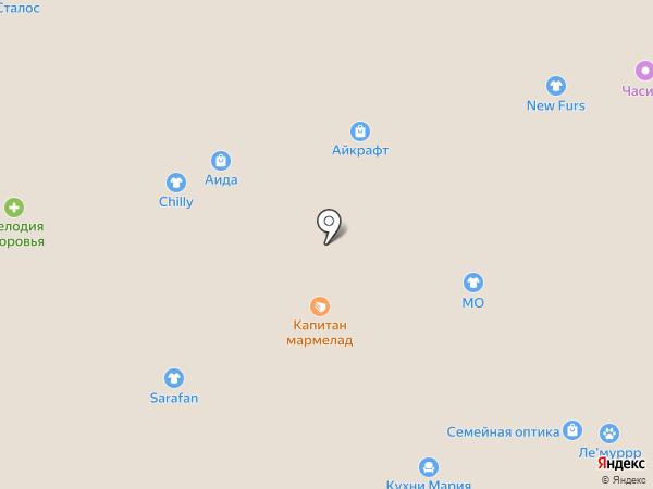 ХОЛСТОР на карте Белгорода