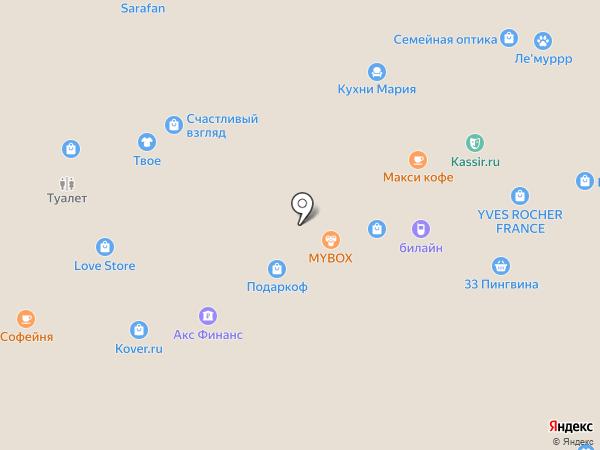 Майки-Фуфайки на карте Белгорода