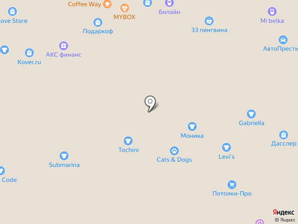 Euphoria на карте Белгорода
