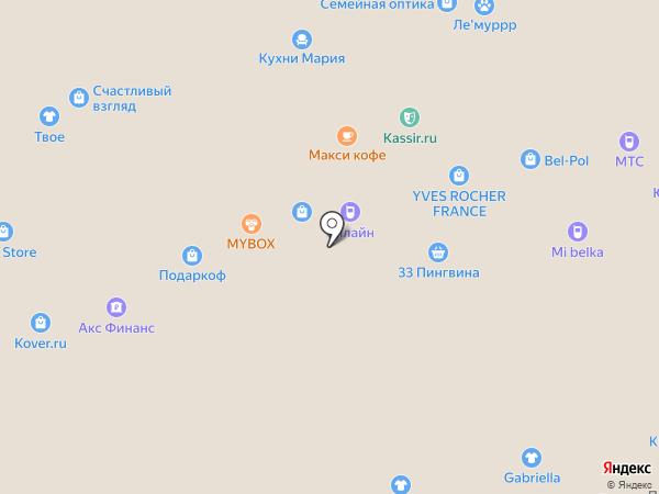 Homas на карте Белгорода