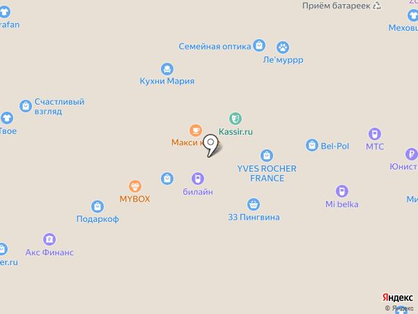 Кукурузкин на карте Белгорода