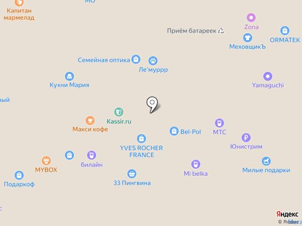Сервис31 на карте Белгорода
