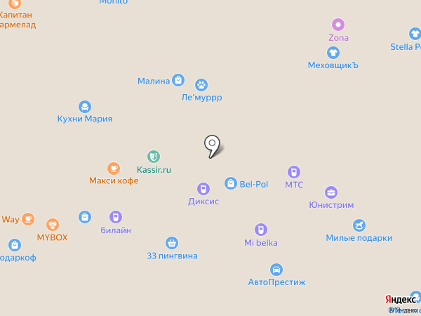 Redmond на карте Белгорода