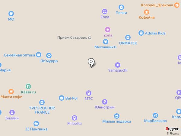 Студия идей на карте Белгорода