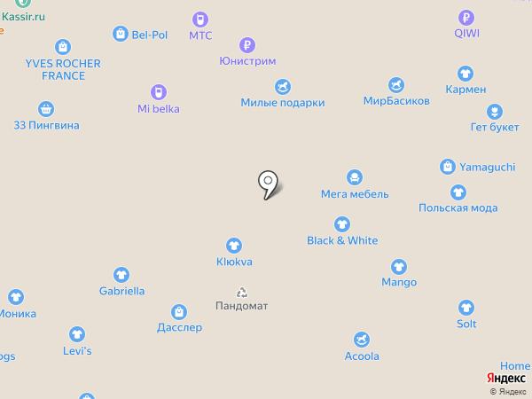 Gabriella на карте Белгорода
