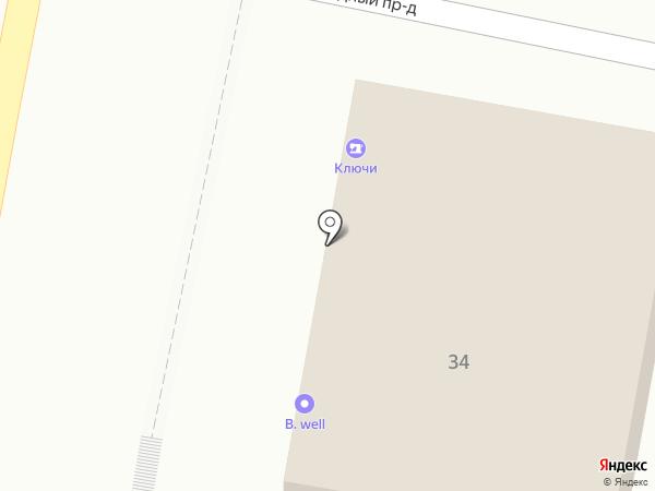 Архангел на карте Белгорода