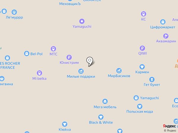 NYX на карте Белгорода