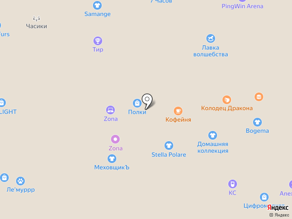 Konfetti на карте Белгорода