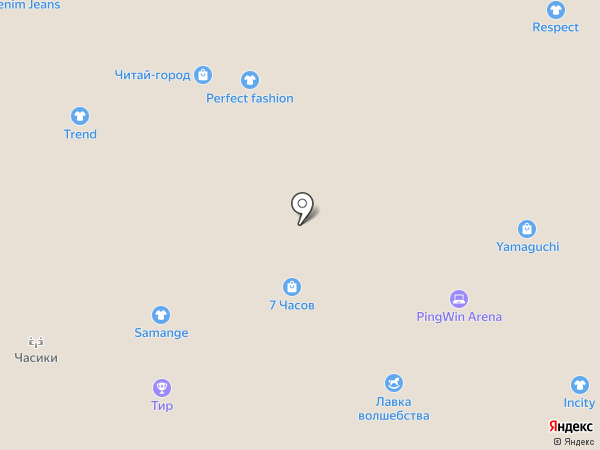 ТАЛЛЕР на карте Белгорода
