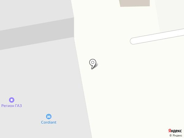 Cordiant на карте Белгорода