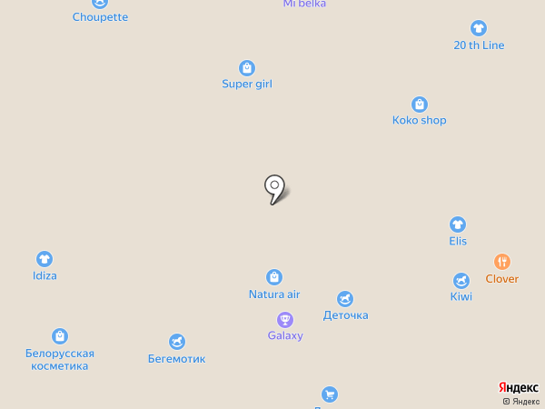 СпивакЪ на карте Белгорода