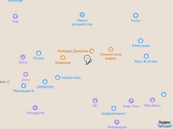 Мебель Май на карте Белгорода