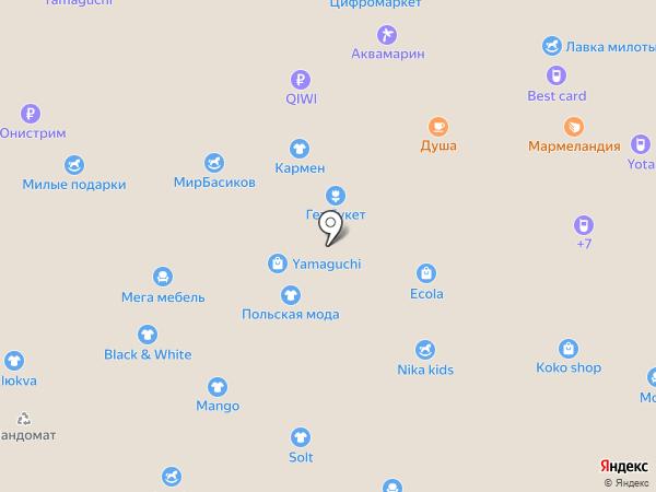 Black & White на карте Белгорода