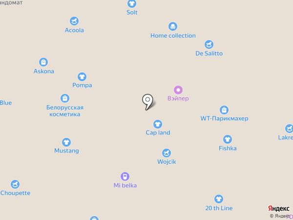 Цезарь на карте Белгорода