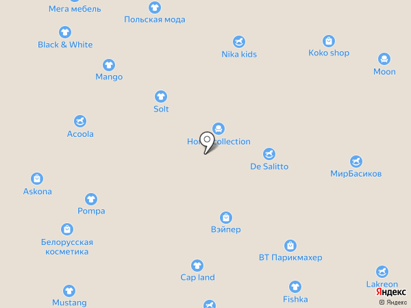Pompa на карте Белгорода