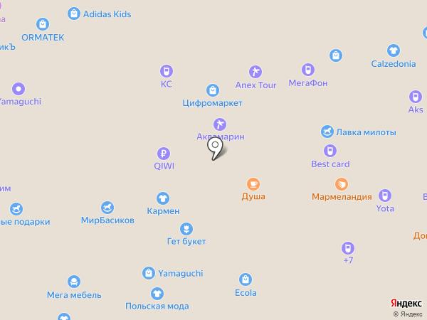 Accent на карте Белгорода