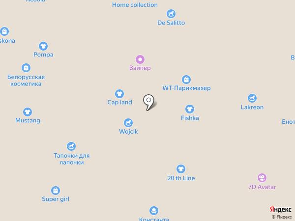 Еду с мамой на карте Белгорода