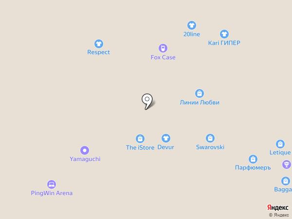 Московский ювелирный завод на карте Белгорода