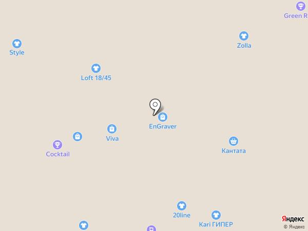 Bis-M на карте Белгорода