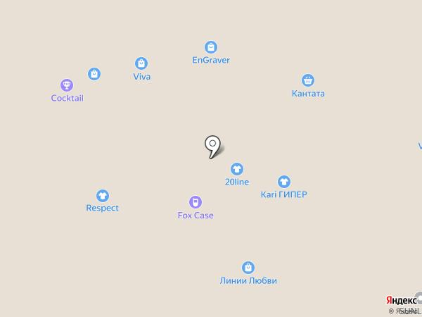 Плюша на карте Белгорода