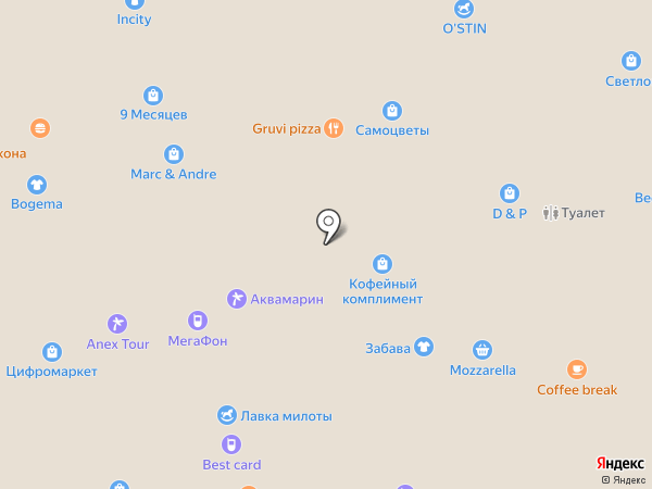 Букет на карте Белгорода