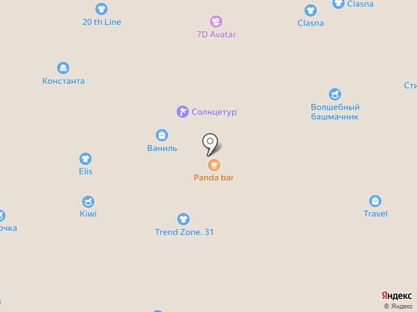Зубровский на карте Белгорода