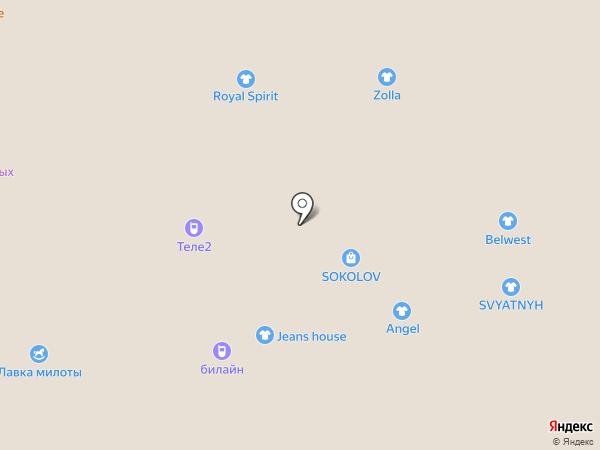 City WOMEN на карте Белгорода