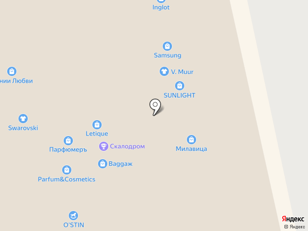 ПарфюмерЪ на карте Белгорода