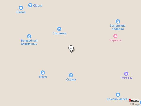 Оранжевый Слон на карте Белгорода