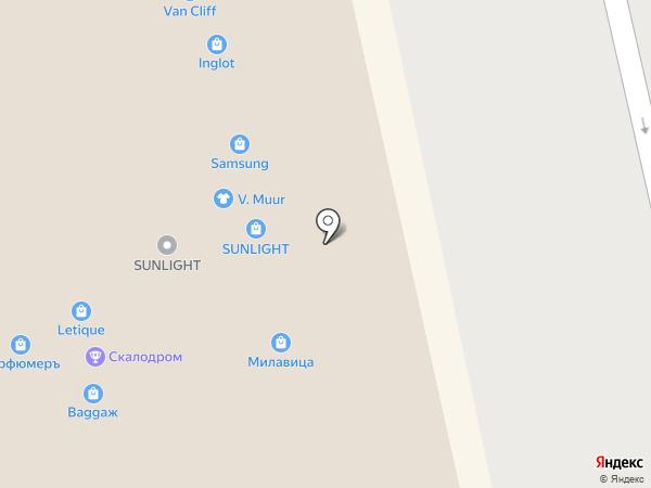 Столплит на карте Белгорода
