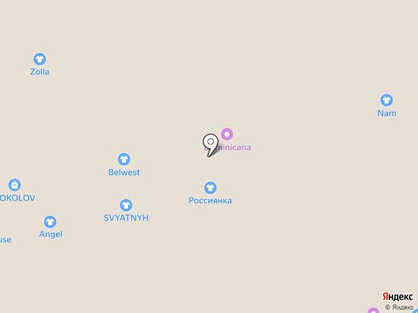 Новая Заря на карте Белгорода