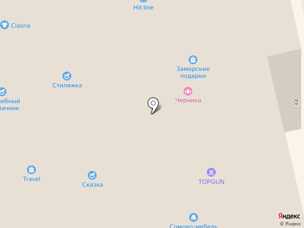 Перевернутая комната на карте Белгорода