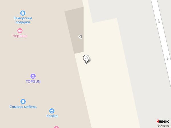 Котофей на карте Белгорода