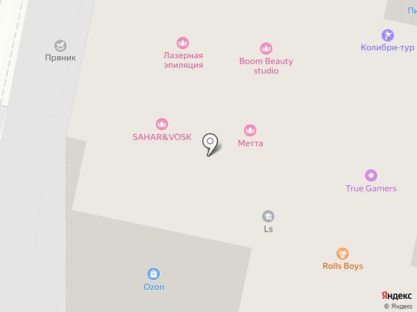 Зачёт на карте Белгорода