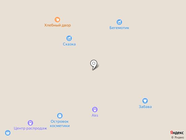 Мега AKS на карте Белгорода