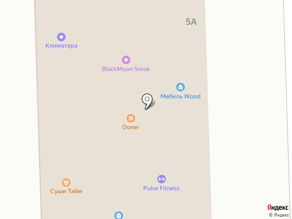 Садовый центр на карте Дубового