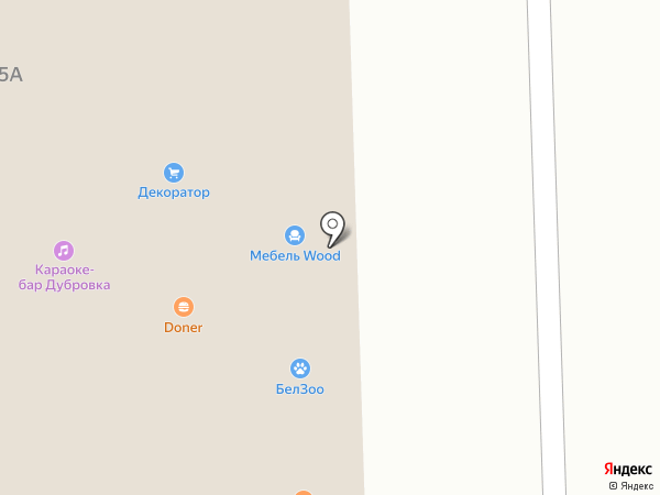 Технопарк на карте Дубового