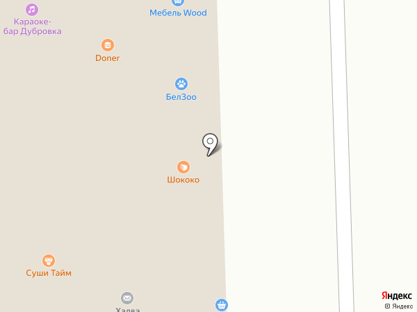 Джан на карте Дубового