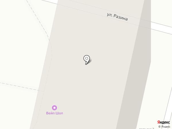 Авида, ЗАО на карте Белгорода