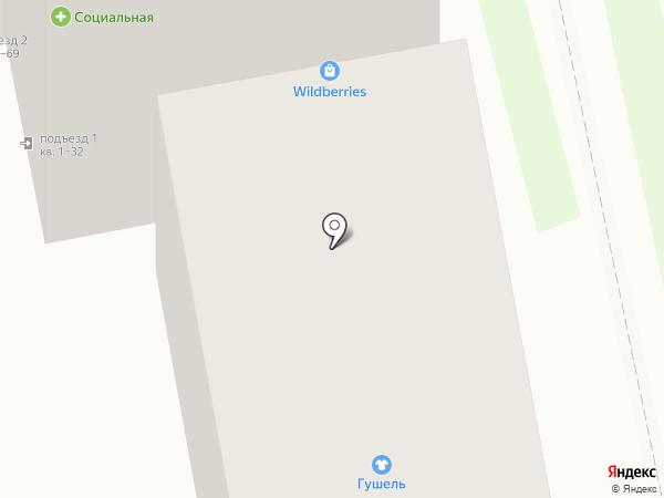 Автопорт 31 на карте Белгорода